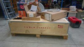 Tesla Powerwall box